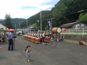 氷ノ川太鼓
