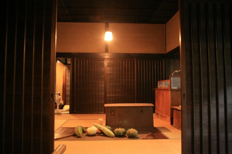 玄関を入ると、南京が可愛らしくお出迎え