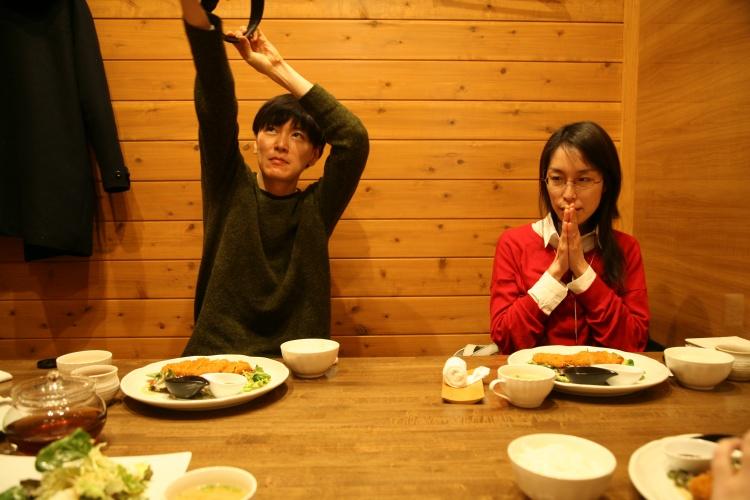 中山さんもがんばって撮影しています。