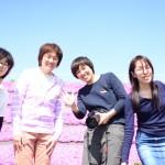 満開!晩酌女子の芝桜ピクニック@春日総合運動公園